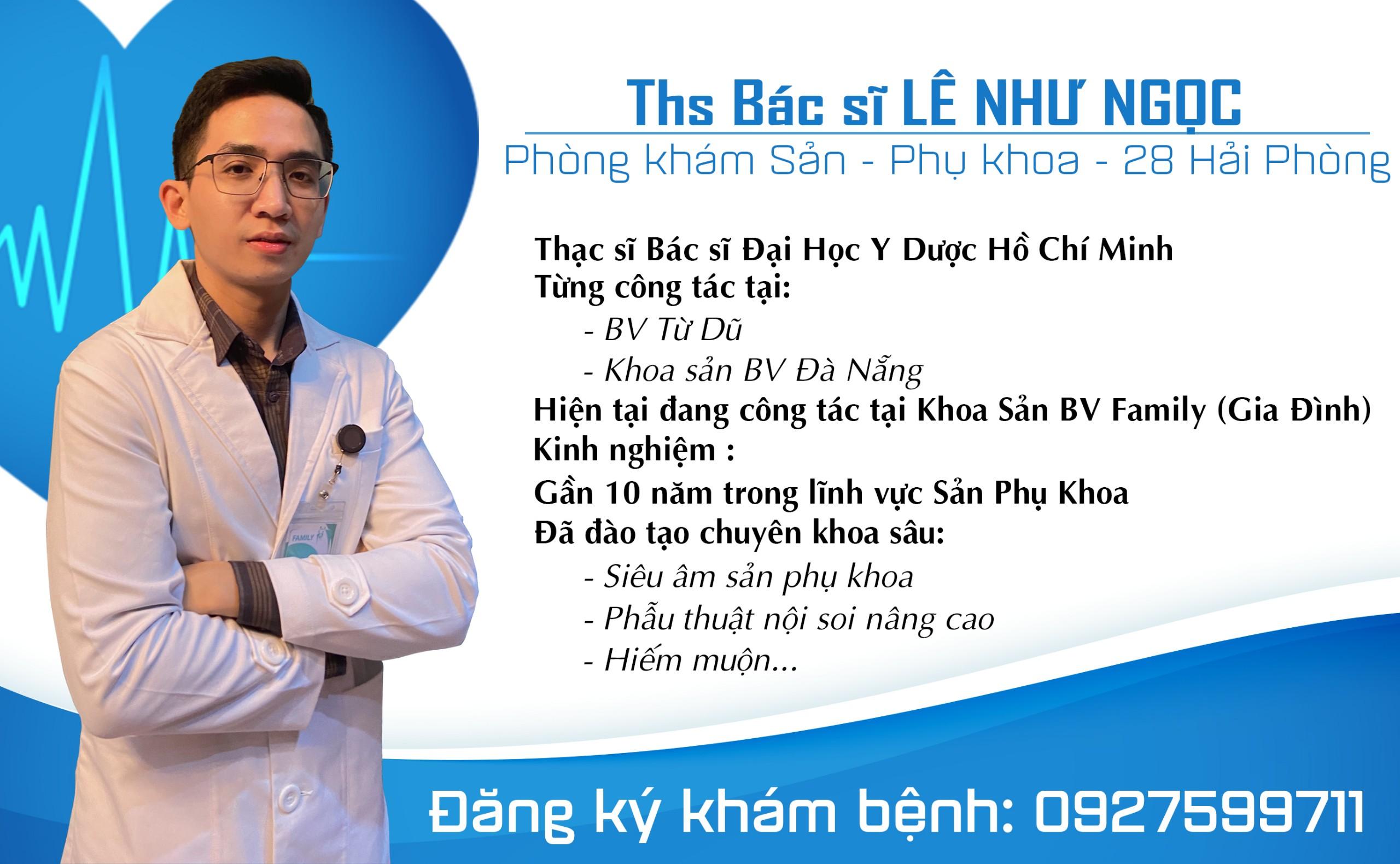 Bác sĩ Lê Như Ngọc