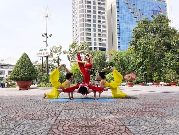 Phòng tập Yoga tại Đà Nẵng